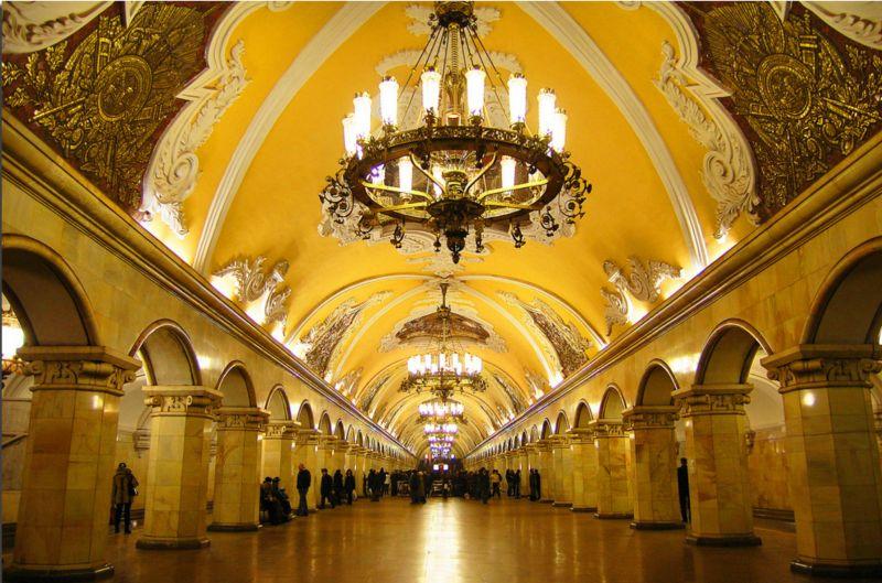 Chiêm ngưỡng 10 nhà ga tàu điện ngầm đẹp nhất thế giới