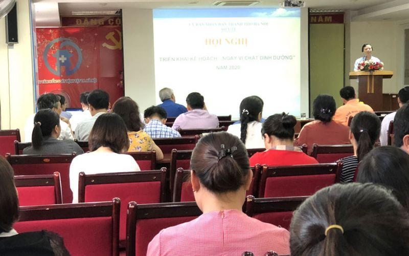 Hà Nội tổ chức gần 1.800 điểm uống vitamin A liều cao