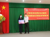 Công ty Xổ số Kiến thiết Vĩnh Long tài trợ 1,750 tỷ đồng cho người bán vé số nghèo, khó khăn