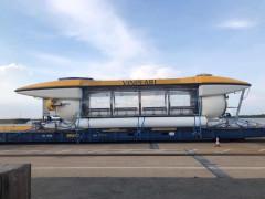 Hình ảnh về chiếc tàu ngầm của Vingroup đặt mua xuất hiện tại Nha Trang
