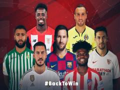 La Liga trở lại vào ngày 11/6 với trận Sevilla gặp Real Betis