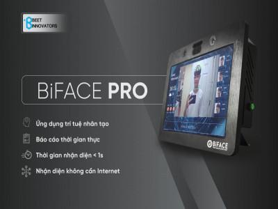 Chính thức ra mắt sản phẩm BiFace Pro chấm công Made in Vietnam, sử dụng công nghệ Trí tuệ nhân tạo