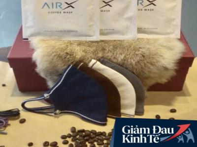 Khẩu trang cà phê Việt Nam đã xuất sang gần 10 nước