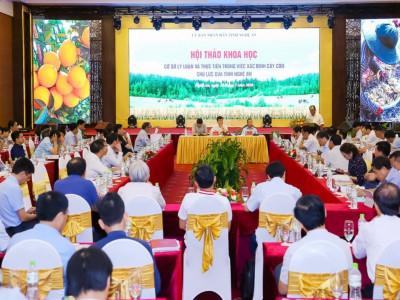 Nghệ An sẽ xây dựng cơ chế thu hút doanh nghiệp đầu tư vào nông nghiệp