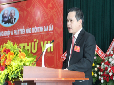 Đại hội lần thứ VII Đảng bộ Ngân hàng Nông nghiệp  và Phát triển nông thôn Chi nhánh Đắk Lắk