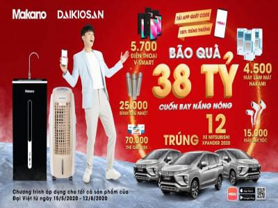 Gia nhập cuộc chơi lớn trên MEGA1, Đại Việt tặng người dùng 38 tỷ đồng cuốn bay nắng nóng