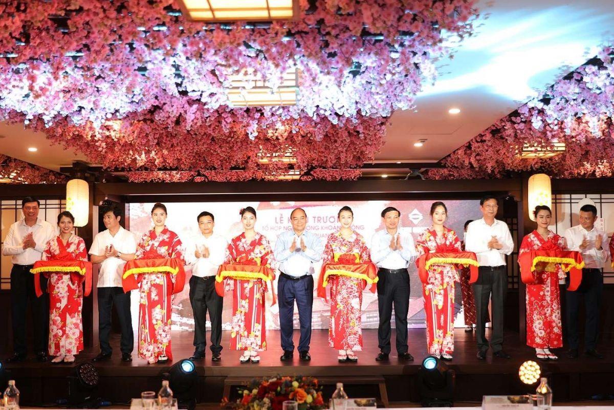 Quảng Ninh: Thủ tướng dự khai trương khu nghỉ dưỡng suối khoáng nóng chuẩn Nhật