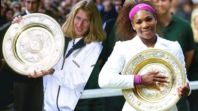 Steffi Graf xứng đáng là tay vợt nữ xuất sắc nhất lịch sử hơn Serena Williams?