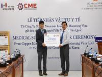 Doanh nghiệp CME và HSV trao tặng 25 nghìn khẩu trang cho cộng đồng người Việt tại Hàn Quốc