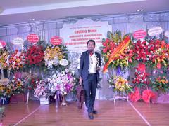 Doanh nhân Nguyễn Hoàng Sang tham dự gala