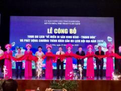 """Thanh Hóa: Công bố tour du lịch """"Về miền di sản Ninh Bình - Thanh Hóa"""""""