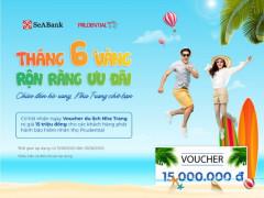 SeABank tặng voucher du lịch trị giá 15 triệu đồng cho các khách hàng mua bảo hiểm
