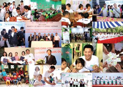 Năm 2019, Amway Việt Nam đóng góp hơn 19 tỷ đồng cho các hoạt động vì cộng đồng
