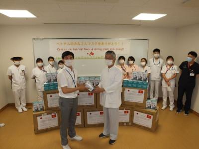 Công ty CME trao tặng 24 nghìn khẩu trang cho bệnh viện và trường học tại Nhật Bản