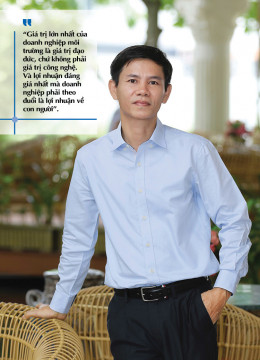 """Tổng giám đốc Công ty Sài Gòn Xanh (TRIBAT): """"Phải trả lại cho môi trường nhiều tài nguyên nhất khi"""