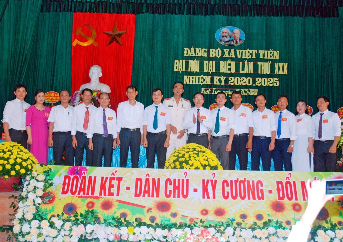 Hải Phòng: Đại hội Đảng bộ xã Việt Tiến lần thứ XXX,  quyết tâm mới cho nhiệm kỳ 2020 - 2025