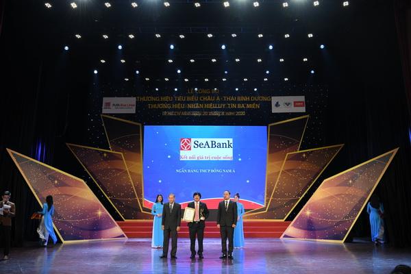 SeABank lần thứ 4 liên tiếp nằm trong Top 50 thương hiệu tiêu biểu châu Á- Thái Bình Dương