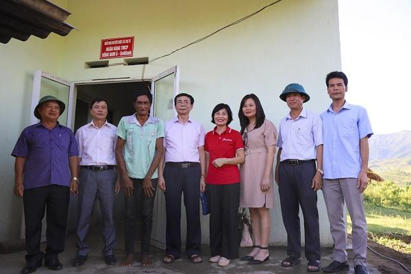 SeABank tặng nhà cho hộ nghèo và học bổng khuyến học cho những trẻ em gặp khó khăn tại Điện Biên