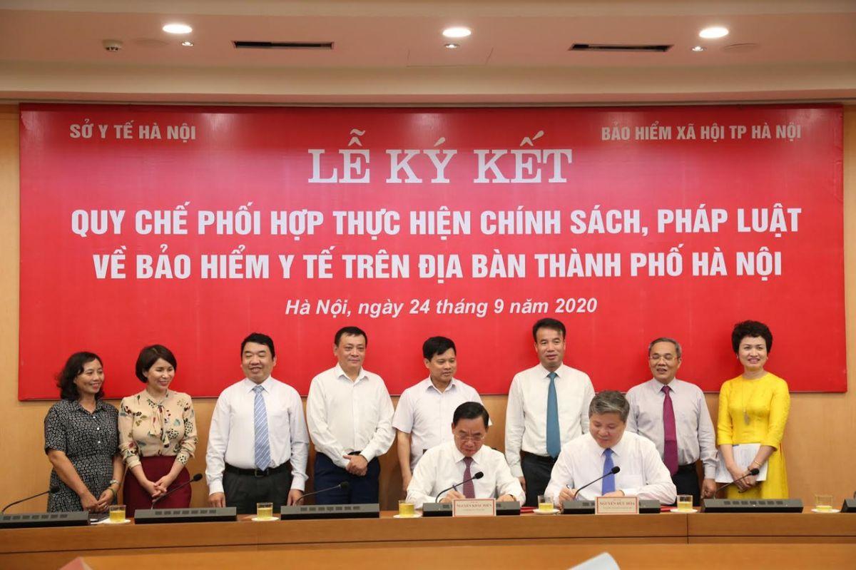 Tăng cường phối hợp tổ chức triển khai thực hiện chế độ BHYT trên địa bàn Thủ đô