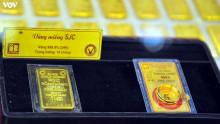 Giá vàng trong nước tăng nhẹ phiên đầu tuần