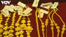 Giá vàng trong nước bất ngờ tăng nhẹ
