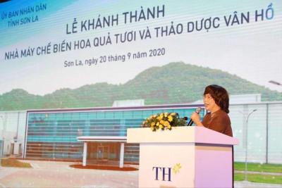 """""""Chúng tôi muốn xin cơ chế để dẫn lối trong nông nghiệp, khai thác các thế mạnh của Sơn La"""""""