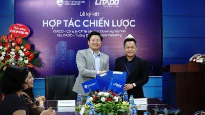 Lễ ký kết hợp tác chiến lược giữa Verco và Litado