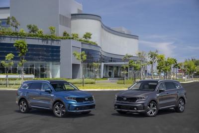 Mẫu xe SORENTO thế hệ mới (4.0) - sản phẩm mới nhất của thương hiệu KIA