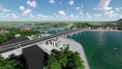 Đập ngăn mặn sông Cái, Nha Trang- Công trình chào mừng Đại hội lần thứ XVIII Đảng bộ tỉnh Khánh Hòa