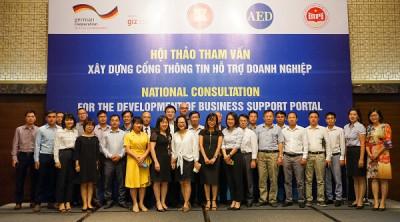 Đề xuất xây dựng Cổng thông tin hỗ trợ doanh nghiệp tại Việt Nam