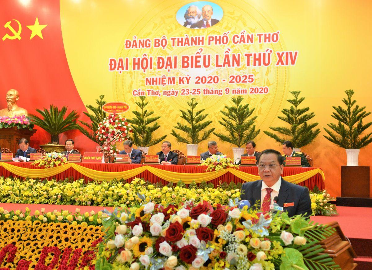 Phiên trù bị Đại hội đại biểu đảng bộ TP. Cần Thơ lần thứ XIV, nhiệm kỳ 2020 – 2025