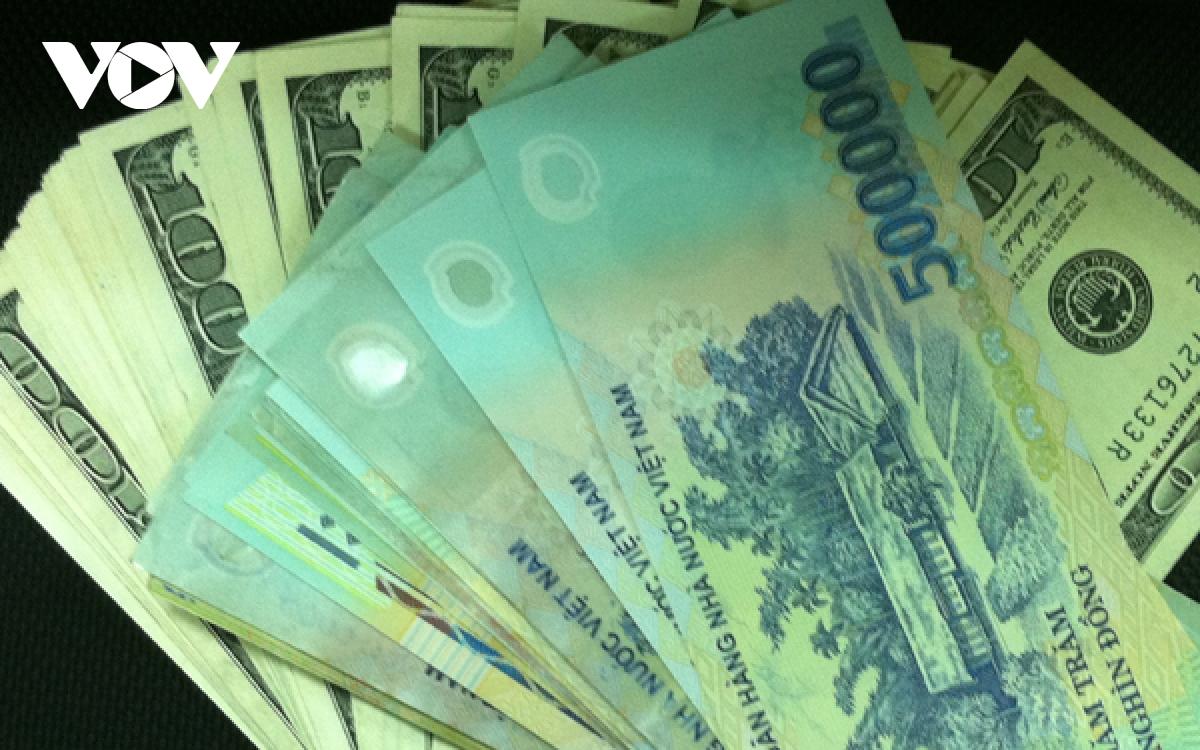 Tỷ giá trung tâm giảm nhẹ, xuống còn 23.203 VND/USD