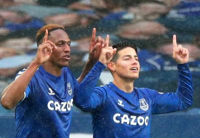 James Rodriguez thăng hoa tại Premier League