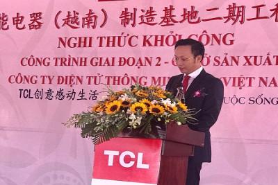 Công ty Cổ phần Đầu tư Xây dựng Bàn Thạch trúng thầu dự án của TCL Việt Nam