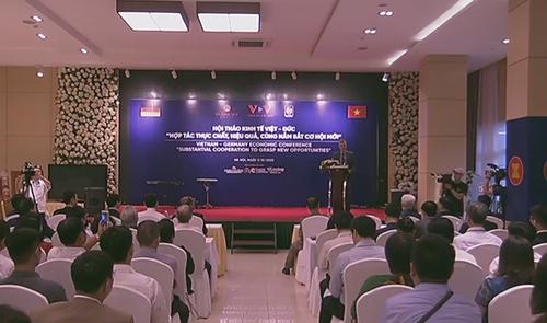 Hội thảo Hợp tác kinh tế Việt Nam - Cộng hòa Liên bang Đức