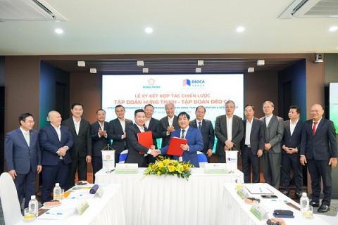 Tập đoàn Hưng Thịnh ký kết hợp tác chiến lược cùng Tập đoàn Đèo Cả