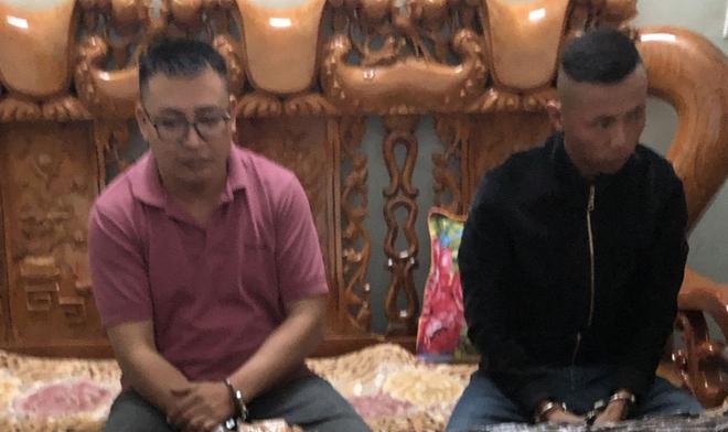 Hai đối tượng Phương Ngọc Dũng và Phạm Xuân Quân của Công ty TNHH MTV mua bán nợ Kim Ngân
