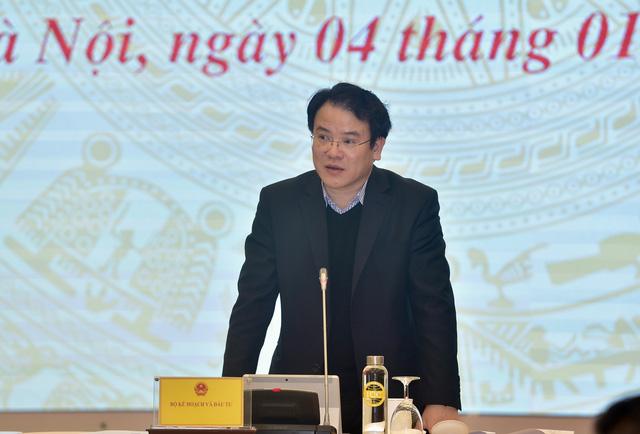 Thứ trưởng Bộ KH&ĐT Trần Quốc Phương (Ảnh: VGP/Nhật Bắc)
