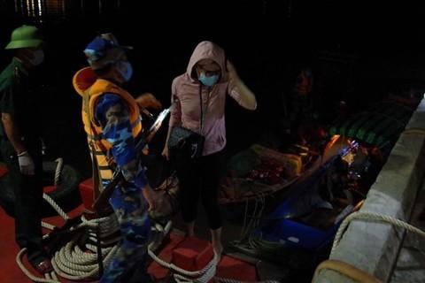 6 người nhập cảnh trái phép bằng đường biển ở Kiên Giang