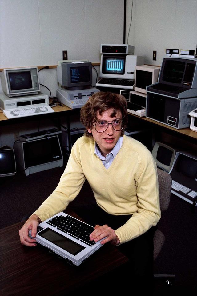 Bill Gates là cậu bé rất toàn diện khi còn trẻ.