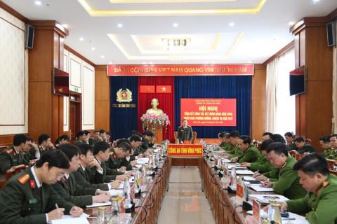 Đảng ủy Công an tỉnh Vĩnh Phúc triển khai nhiệm vụ năm 2021