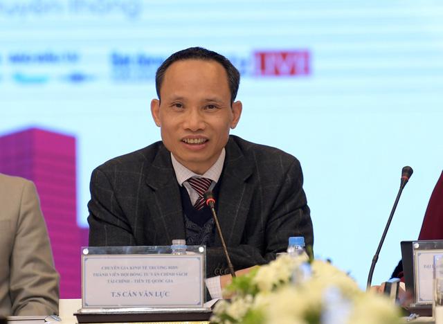 TS. Cấn Văn Lực, Thành viên Hội đồng tư vấn chính sách tài chính, tiền tệ quốc gia.