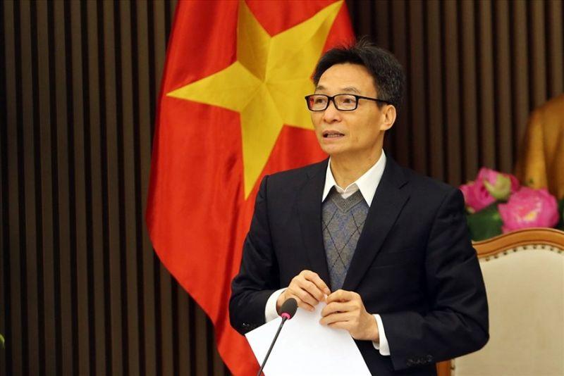 Phó Thủ tướng Vũ Đức Đam phát biểu