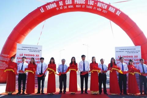 """Cầu Phước Lộc  – """"Cây cầu mong ước"""" đã được thông xe"""