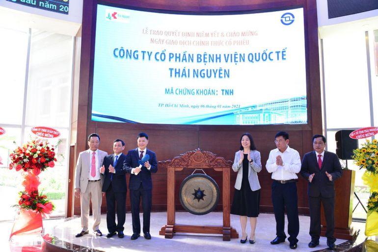 Bệnh viện đầu tiên niêm yết trên sàn chứng khoán Việt Nam