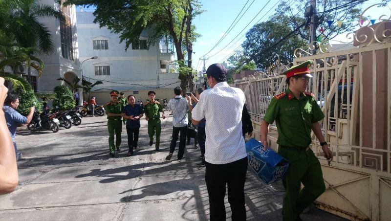 Bị can Nguyễn Hữu Hoành, nguyên Phó Giám đốc Chi nhánh Văn phòng đăng ký đất đai thành phố Phan Thiết bị bắt