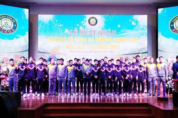 Câu lạc bộ Bóng đá Đông Á Thanh Hóa, xuất quân mùa giải 2021