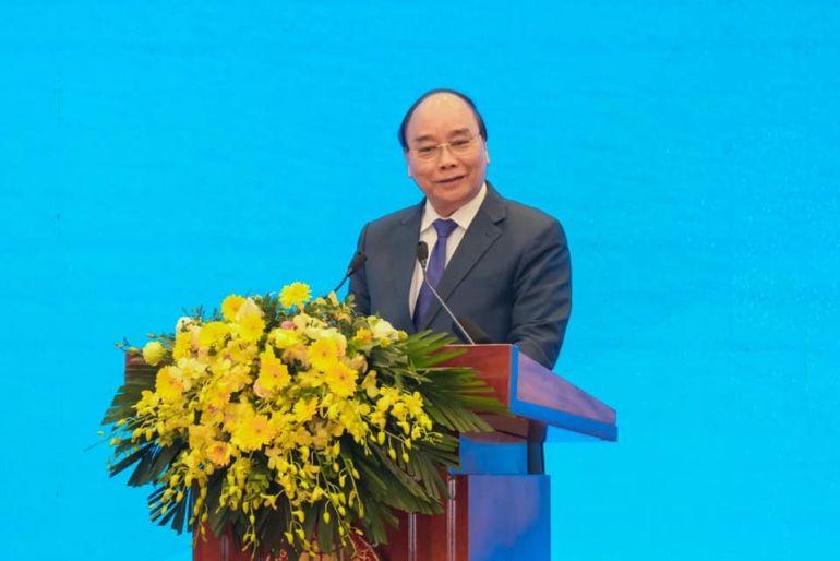 """Thủ tướng: Thực hiện tốt phương châm """"đoàn kết, kỷ cương, đổi mới, sáng tạo, khát vọng phát triển""""..."""