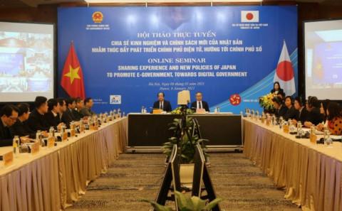 Hỗ trợ của Nhật Bản dành cho Việt Nam trong lĩnh vực triển khai Chính phủ điện tử