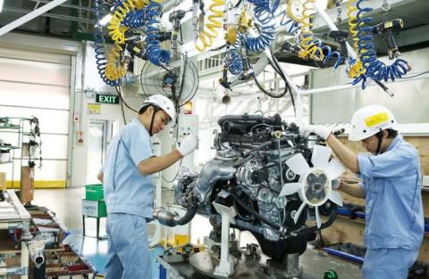 Công nghiệp chế biến, chế tạo bình quân mỗi năm tạo thêm khoảng 300.000 việc làm